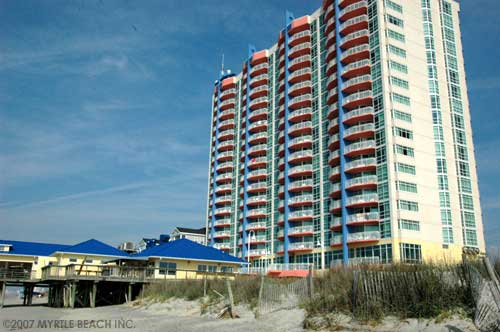 Prince Resort in the Cherry Grove section of North Myrtle Beach